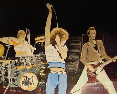 Keith Moon Painting - Teenage Wasteland by Stuart Engel