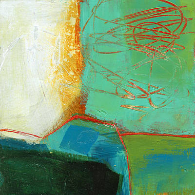 Abstracted Painting - Teeny Tiny Art 110 by Jane Davies