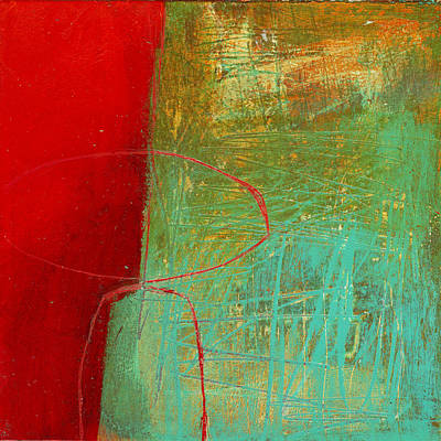 Abstracted Painting - Teeny Tiny Art 114 by Jane Davies