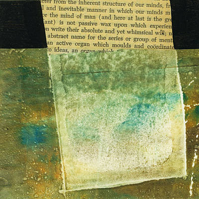 Grid Painting - Teeny Tiny Art 124 by Jane Davies