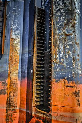 Teeth In A Rachet System On A Ship. Original by Chris Smith