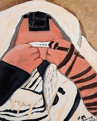 Tefillah- In Prayer Art Print