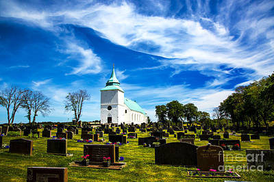Photograph - Tegneby Church One by Rick Bragan