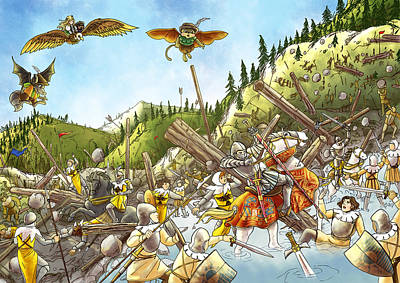 Battle At Morgarten Original