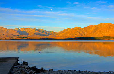Photograph - Tekapo Sunset by Jenny Setchell