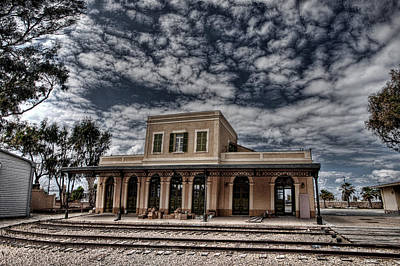 Photograph - Tel Aviv First Railway Station by Ron Shoshani