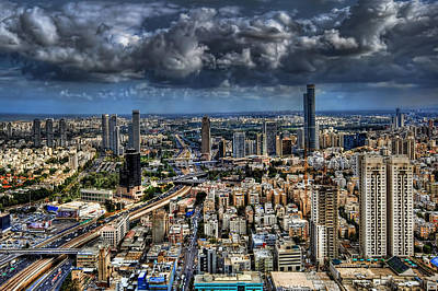 Photograph - Tel Aviv Love by Ron Shoshani