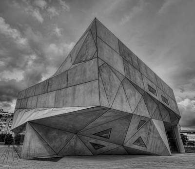 Art Print featuring the photograph Tel Aviv Museum  by Ron Shoshani