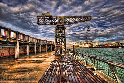 Photograph - Tel Aviv Port At Winter Time by Ron Shoshani