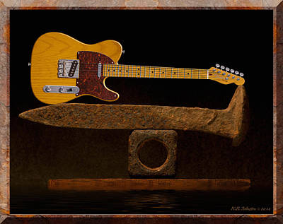 Tele Photograph - Tele Spike by WB Johnston