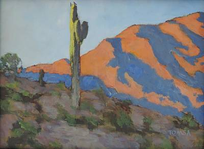 Painting - Telegraph Pass Sentinel by Bill Tomsa