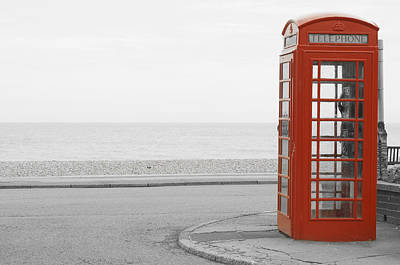 Telephone Booth Art Print
