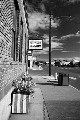Photograph - Telephone Museum by John Bushnell