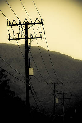 Telephone Poles Photograph - Telephone Pole 5 by Scott Campbell