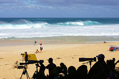 Triple Crown Of Surfing Photograph - Telephoto Journalism by Kevin Smith