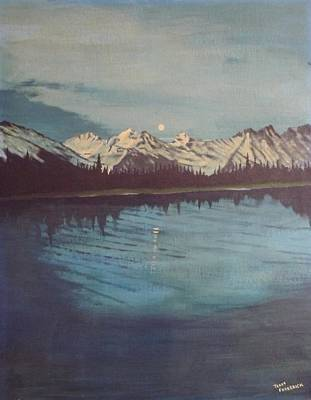Painting - Telequana Lk Ak by Terry Frederick