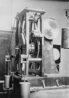 Telescope Clock, Sydney Observatory Art Print by Science Photo Library