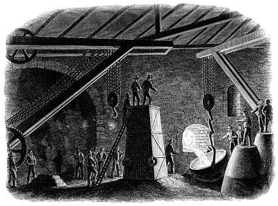 Telescope Mount Casting Print by Royal Astronomical Society