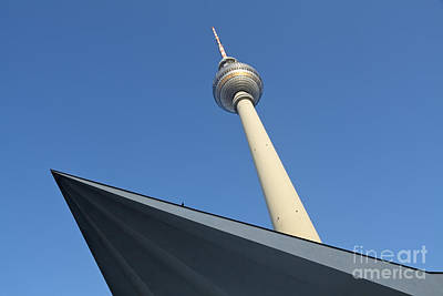 Television Tower Berlin Art Print
