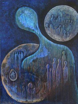 Painting - Tell Our Story by Indigo Carlton