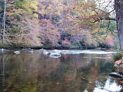 Photograph - Tellico River In Fall by Regina McLeroy