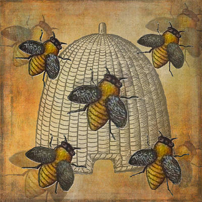 Telling The Bees Art Print
