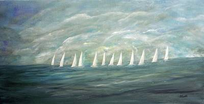 Unity Painting - Telltale Sail by Sara Credito