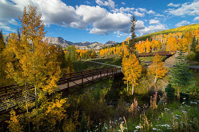 Fall Photograph - Telluride Fall Colors by Michael J Bauer