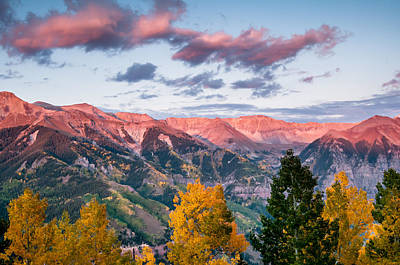 Whalen Photograph - Telluride Sunset Two by Josh Whalen