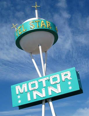 Retro Photograph - Telstar Motor Inn by Larry Hunter