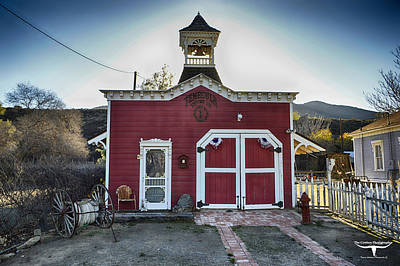 Old Town Temecula Photograph - Temecula Engine Number 1 by Tommy Anderson