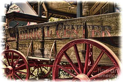 Temecula Wagon Art Print