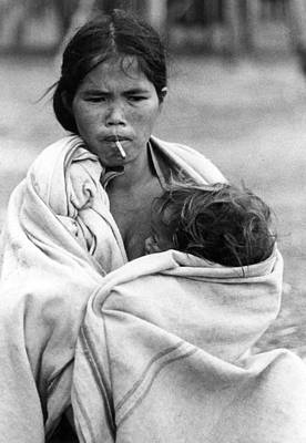 Hmong Photograph - Temperature by Norman Johnson