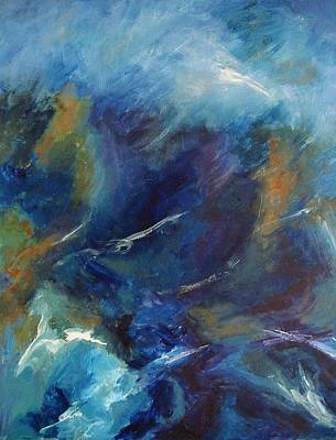 Turbulent Skies Painting - Tempest-sold by Lou Cicardo