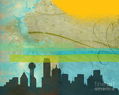 Tempestuous City Art Print