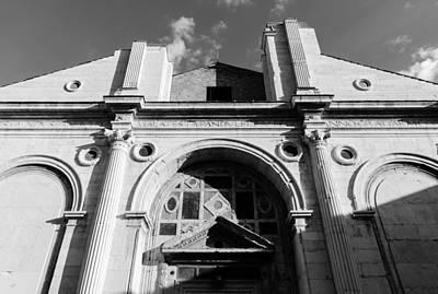 Photograph - Tempio Malatestiano In Rimini Italy  by Andrea Mazzocchetti