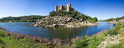 Knights Castle Photograph - Templar Castle Of Almourol by Jose Elias - Sofia Pereira