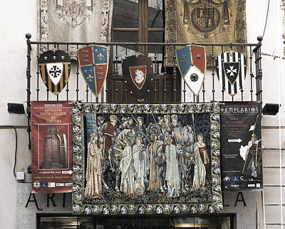 Photograph - Templar Tapestries by Lorraine Devon Wilke