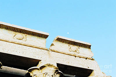 Art Print featuring the photograph Temple At Luxor by Cassandra Buckley