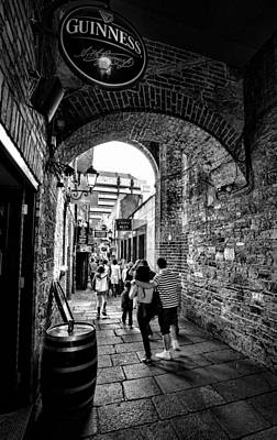 Photograph - Temple Bar Dublin Ireland by Jim Orr