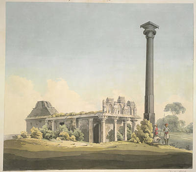 Religious Art Photograph - Temple by British Library