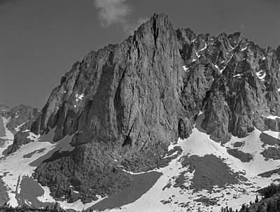 Photograph - 406421-temple Crag Bw by Ed  Cooper Photography