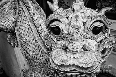 Photograph - Temple Dragon Statue by Dean Harte
