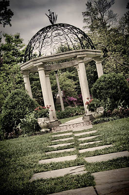 Photograph - Temple Gardens At Sayen Gardens by Beth Sawickie