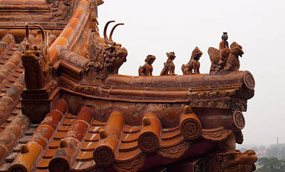 Photograph - Temple Guardians by Robert Watson