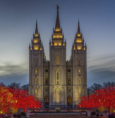 Worship God Photograph - Temple Lights by Peter Irwindale