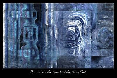 Digital Art - Temple by Missy Gainer