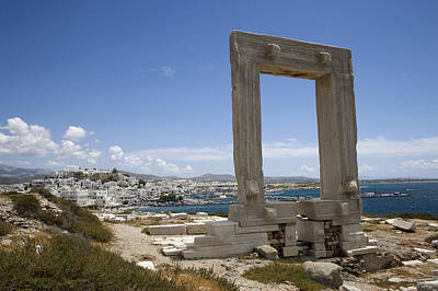 Zeus Photograph - Temple Of Apollo by Jim  Wallace