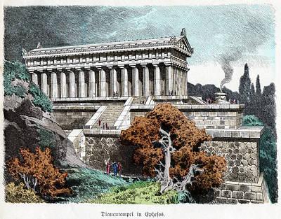 Temple Of Artemis Art Print by Cci Archives