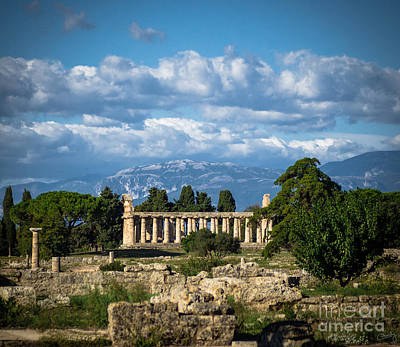 Photograph - Temple Of Athena by Prints of Italy
